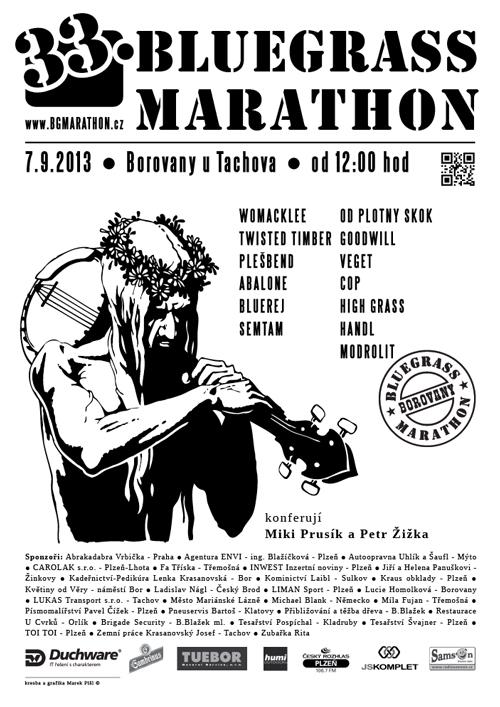 plakát Bluegrass Marathon