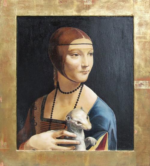 kopie historického obrazu Marek Pišl