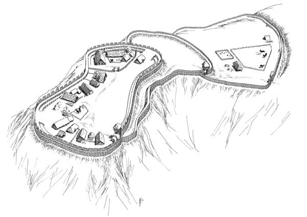 Hradiště Bukovec Holý vrch